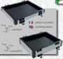 Modulo One Alluminio 4 cm